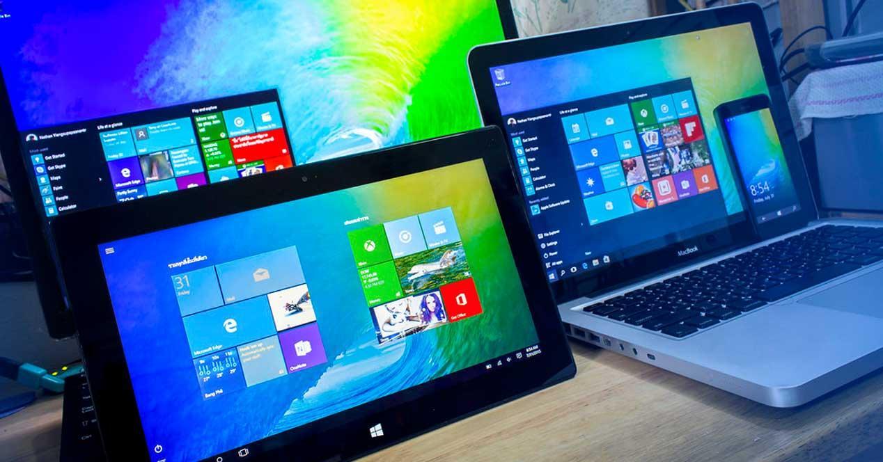 Dispositivos con Windows 10