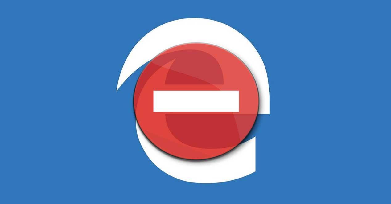 Bloquear Edge Windows 10