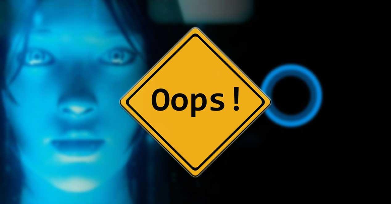 Fallo Cortana