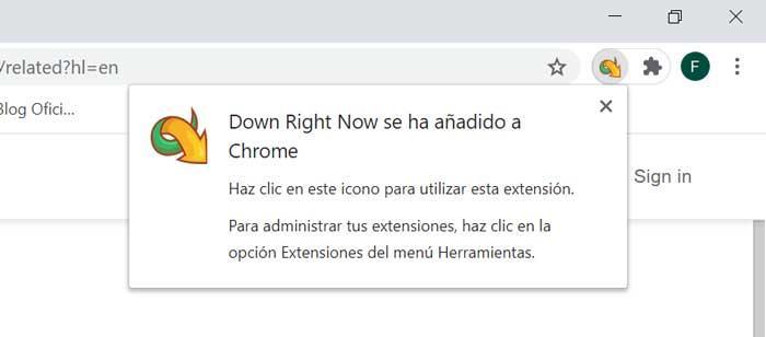 DownZemAll Extensión для Chrome