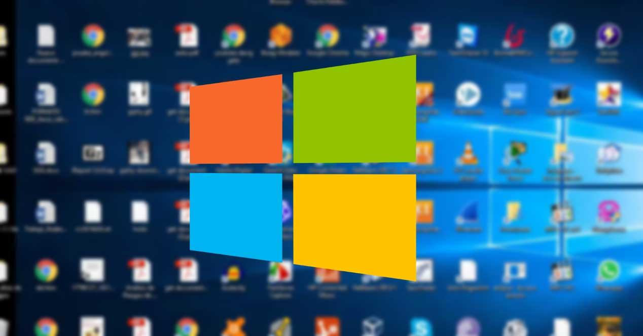 Formas mostrar Escritorio de Windows 10