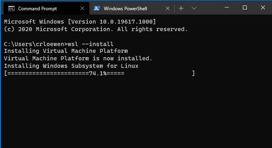 Instalar WSL2