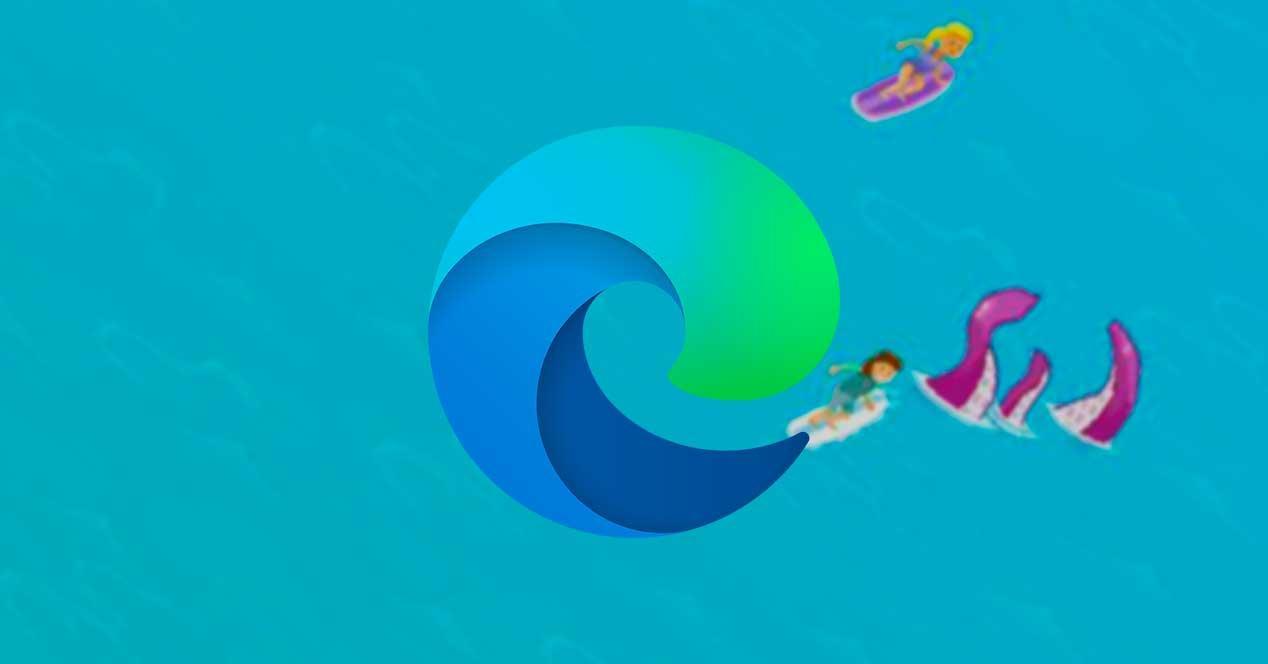 Minijuego Surf Edge