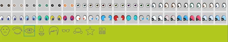 Ojos emoticonos