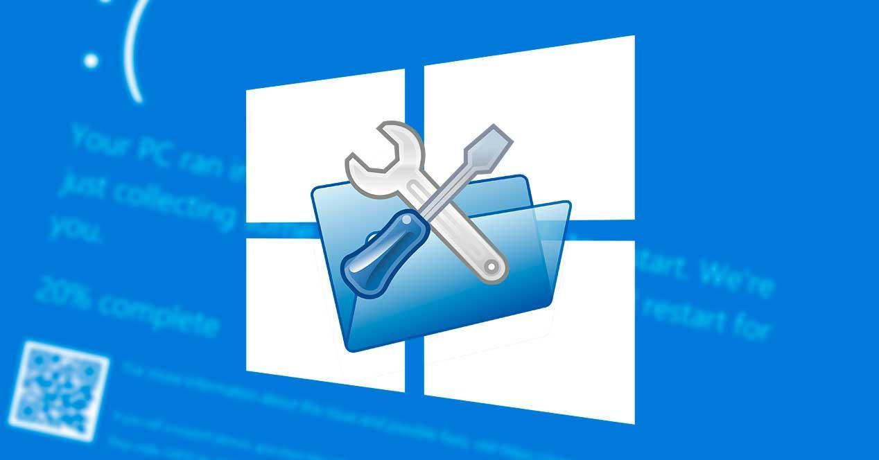 Reparación automática Windows 10