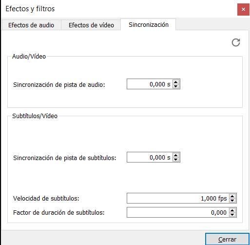 Sincronizar subtítulos VLC