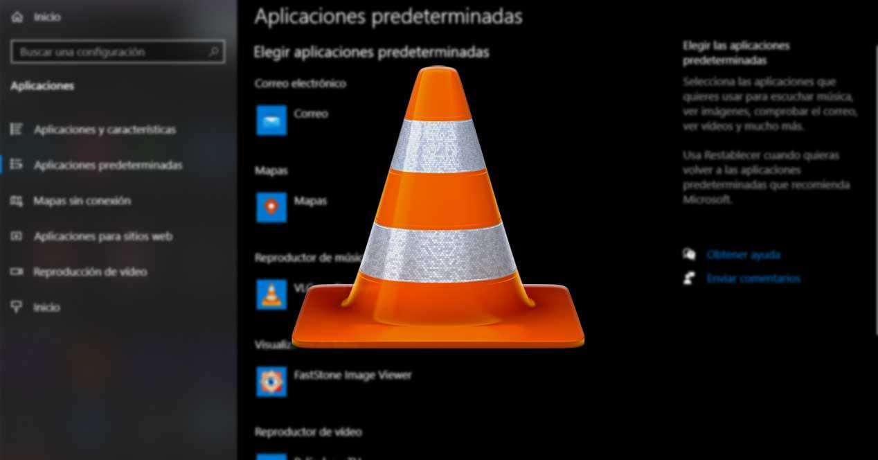 VLC predeterminado