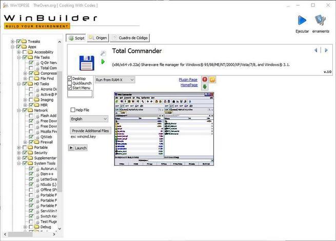 Win10PE SE - Configuración extra 16