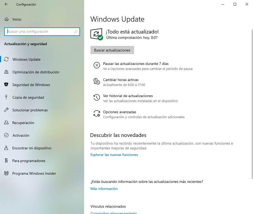 Windows 10 - Todo actualizado