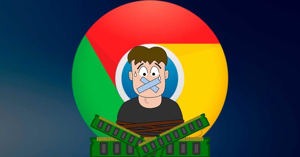 Ahorro RAM Chrome