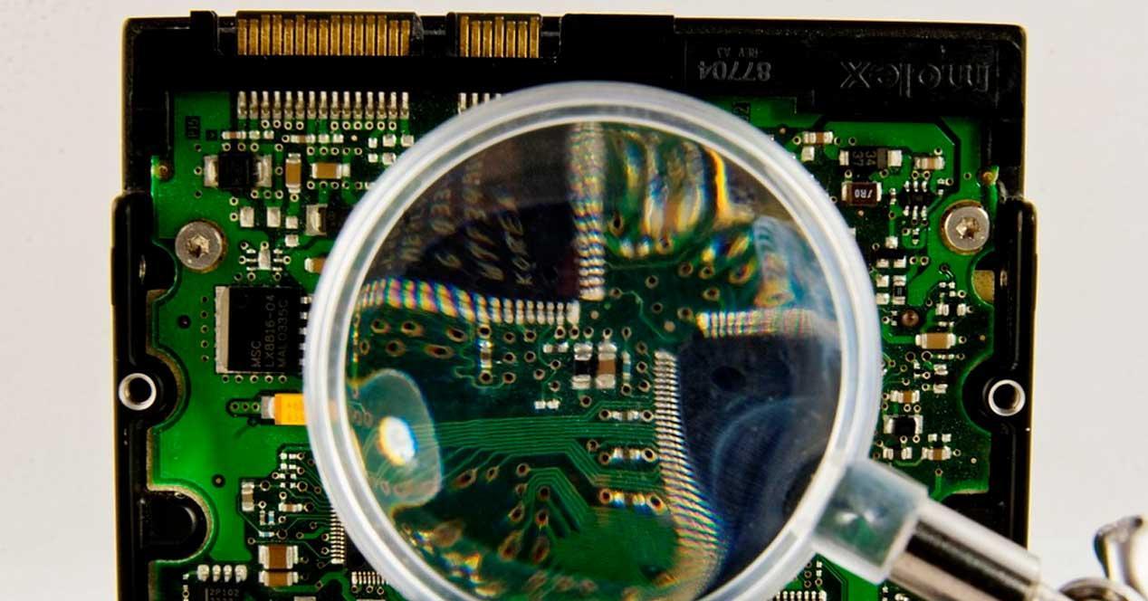 Explorar disco duro