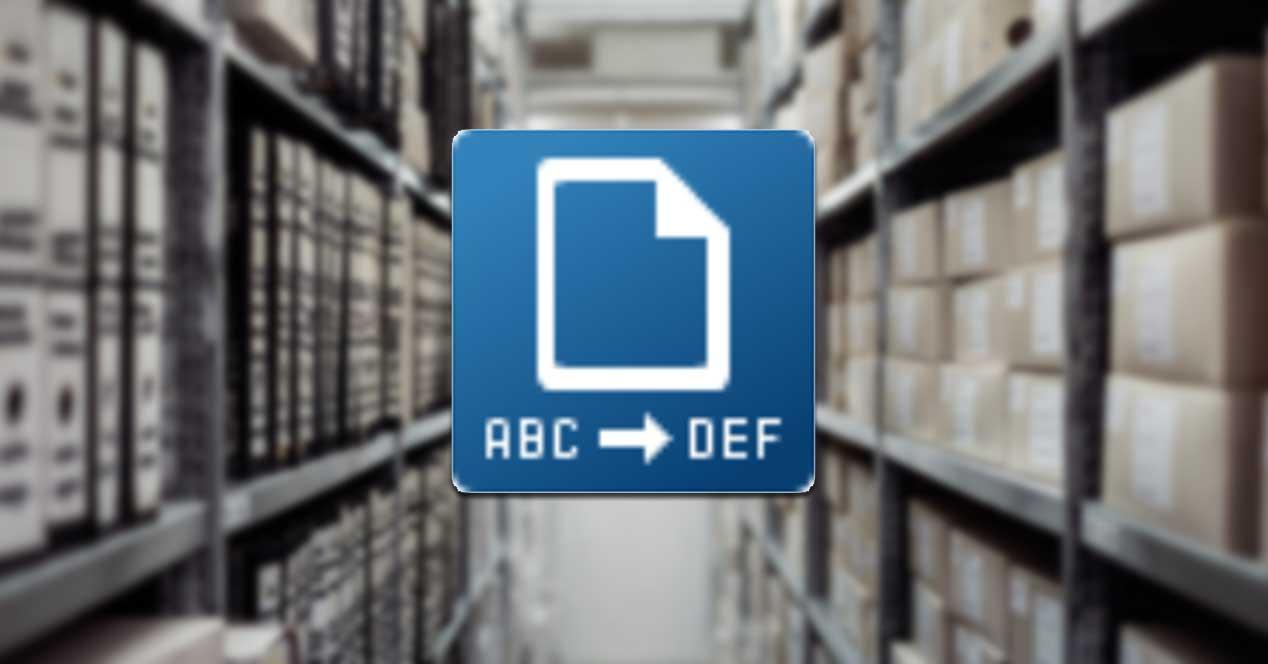 FileRenamer renombrar archivos por lotes