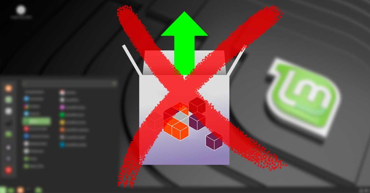Linux Mint bloquear Snap