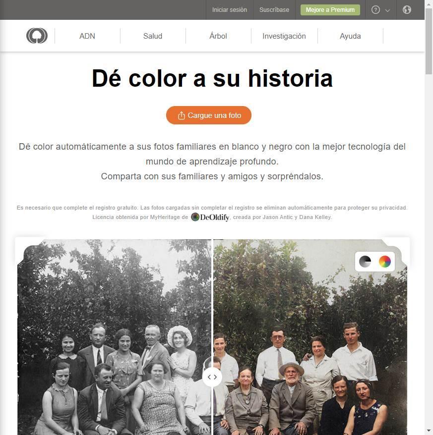 MyHeritage En Color