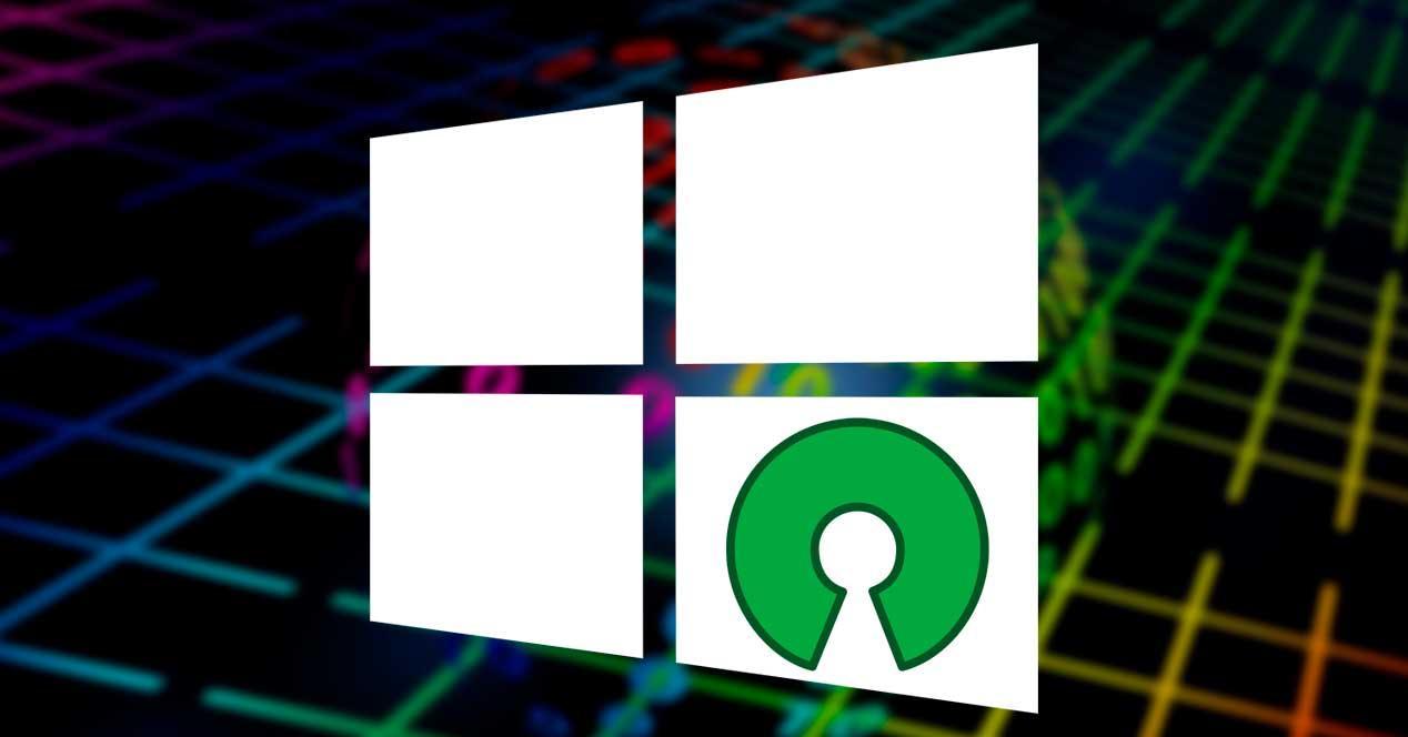 Windows OpenSource programas