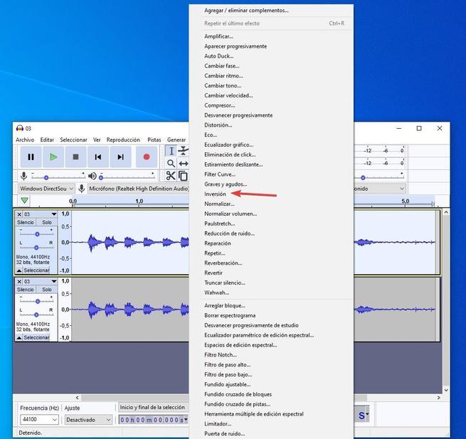 Audacity karaoke 02