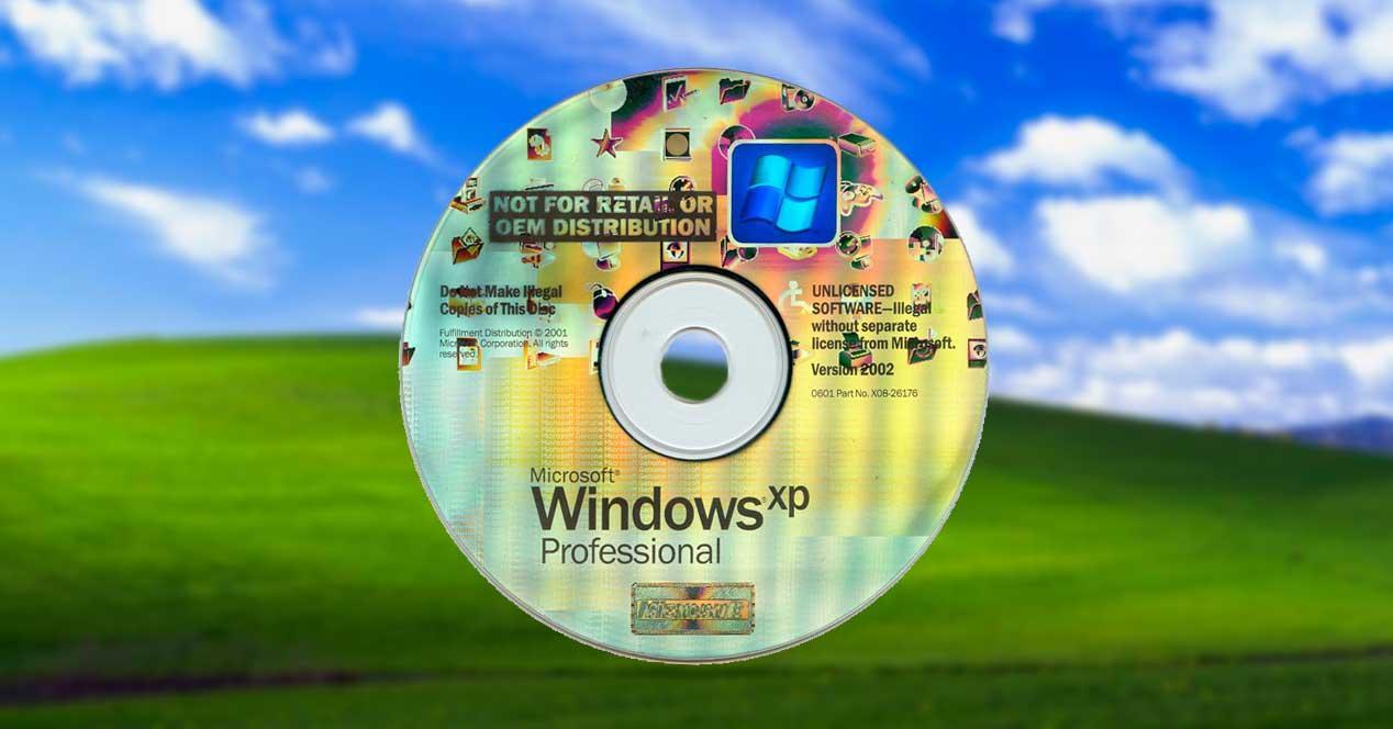 CD Windows XP