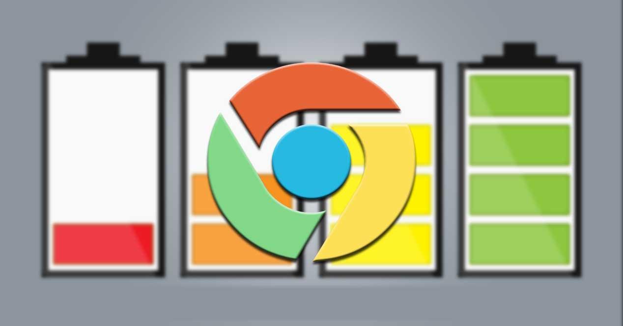 Chrome batería