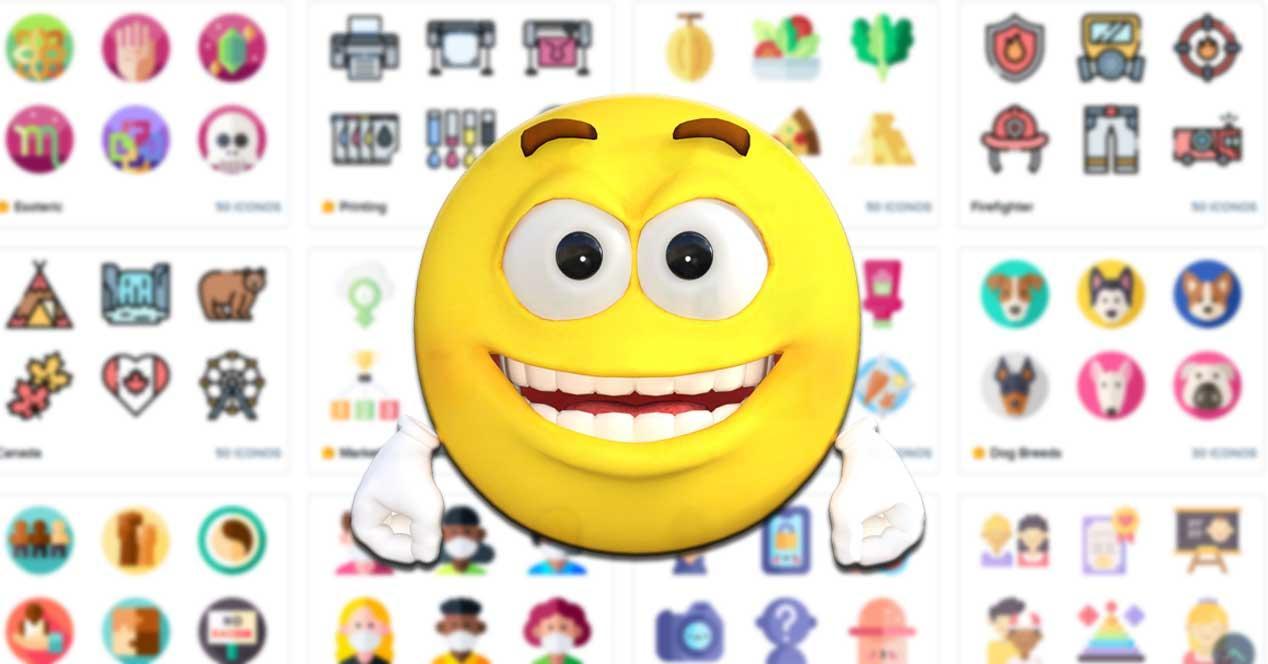 Descargar iconos