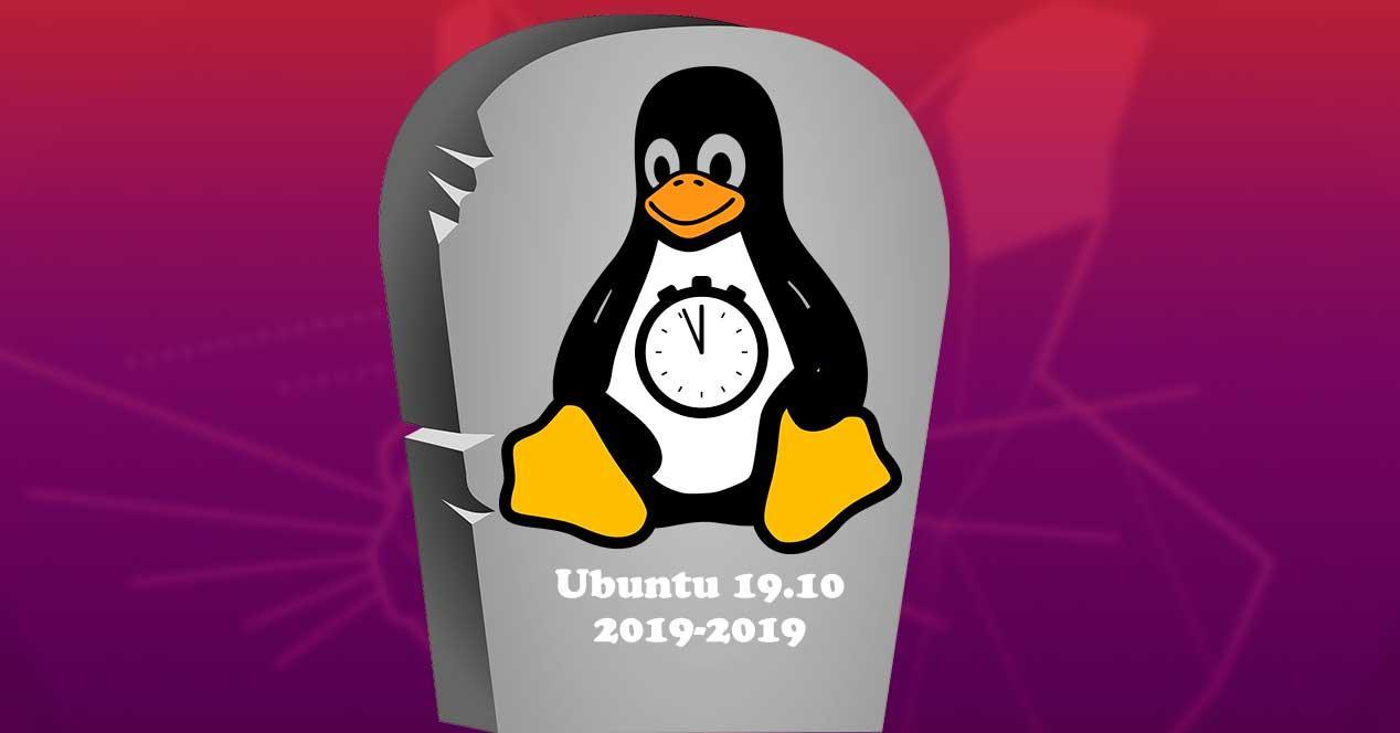 Fin soporte Ubuntu 19.10