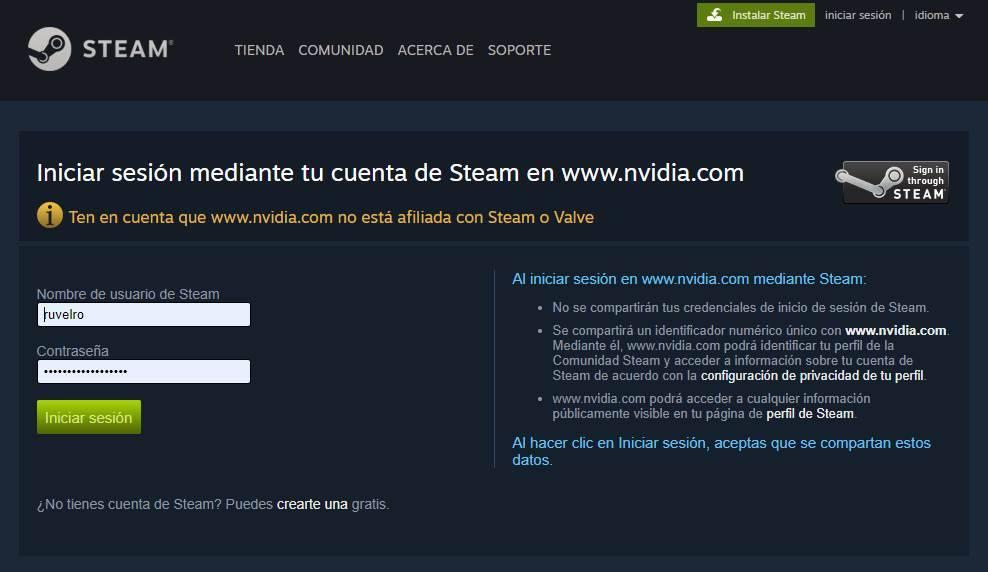 GeForce NOW - vincular y añadir juegos de Steam 3