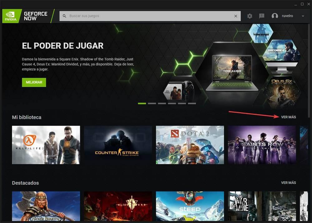 GeForce NOW - vincular y añadir juegos de Steam 5