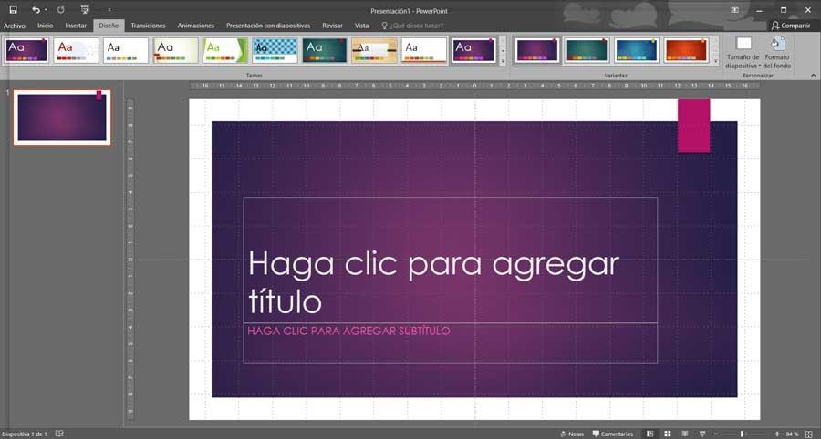 PowerPoint diapositiva