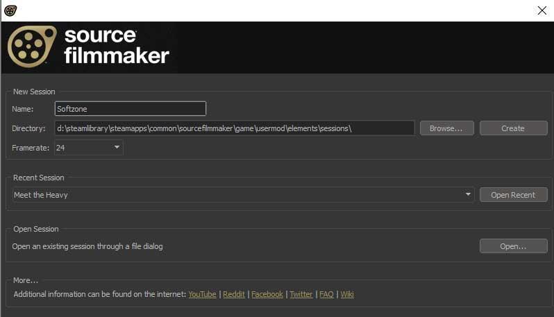 Source Filmmaker inicio