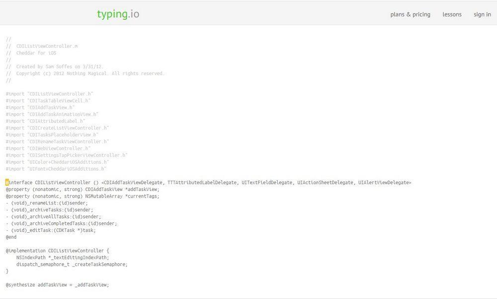 TypingIO Programadores