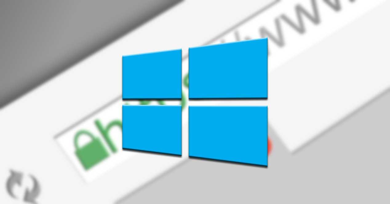 Windows internet