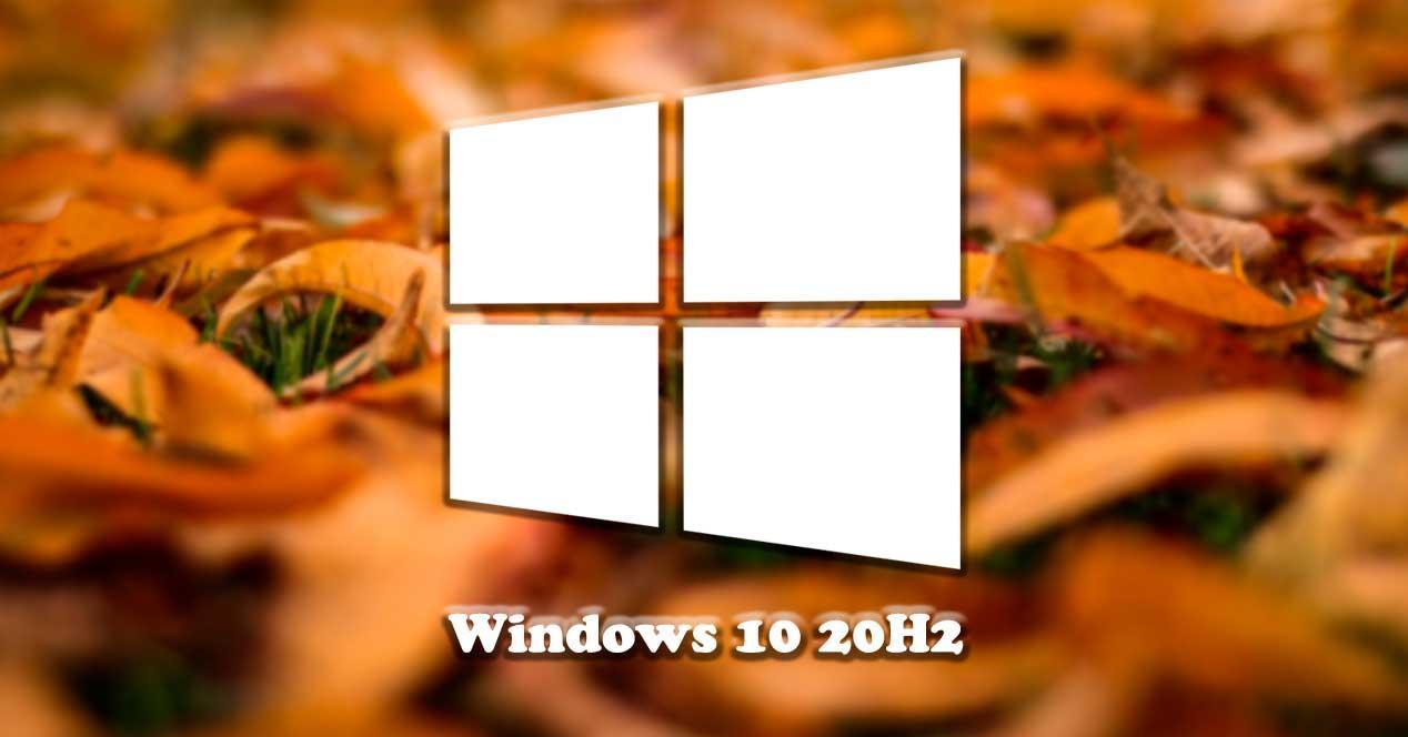 Actualización otoño Windows 10 20H2