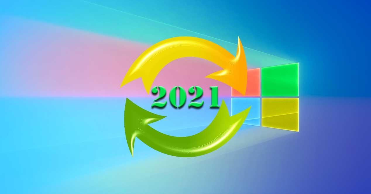 Actualizaciones 2021
