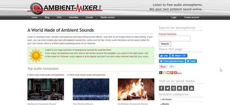 Mixer ambiental
