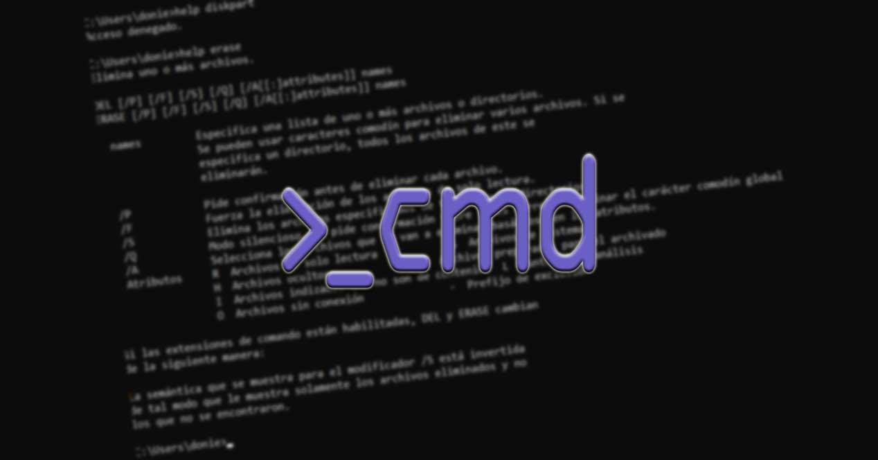CMD comandos