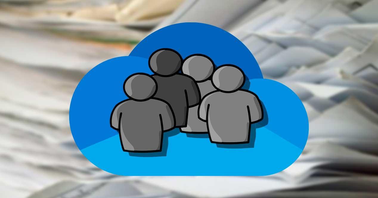 Compartir archivos documentos OneDrive