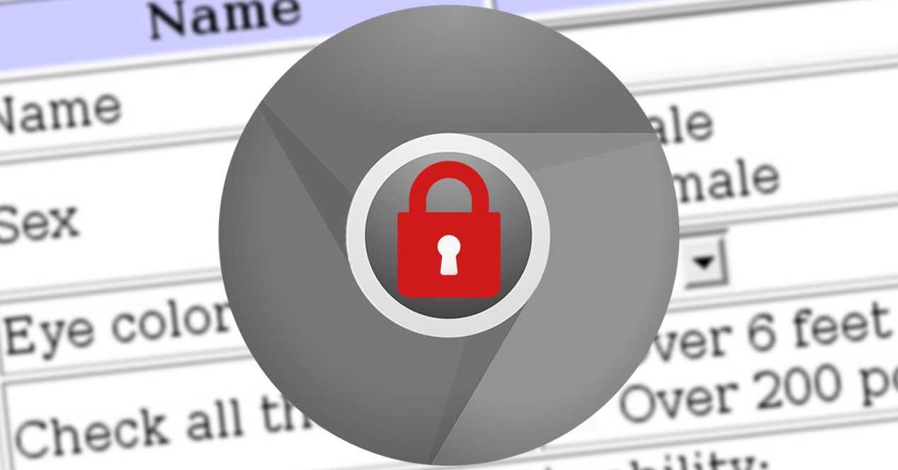 Conexiones inseguras Chrome