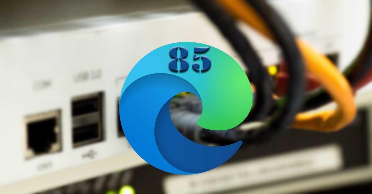 Edge 85 internet