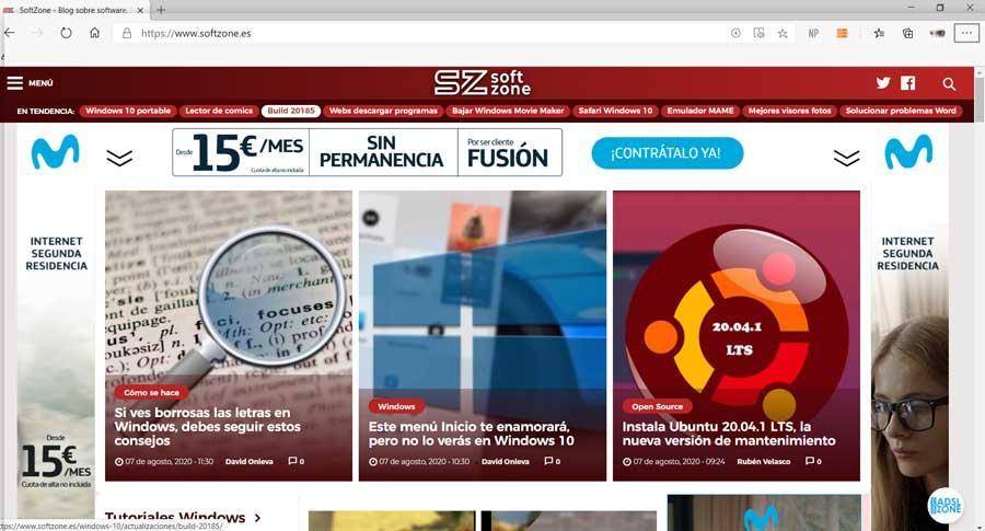 Elige tu navegador web favorito entre estos basados en Chromium Edge