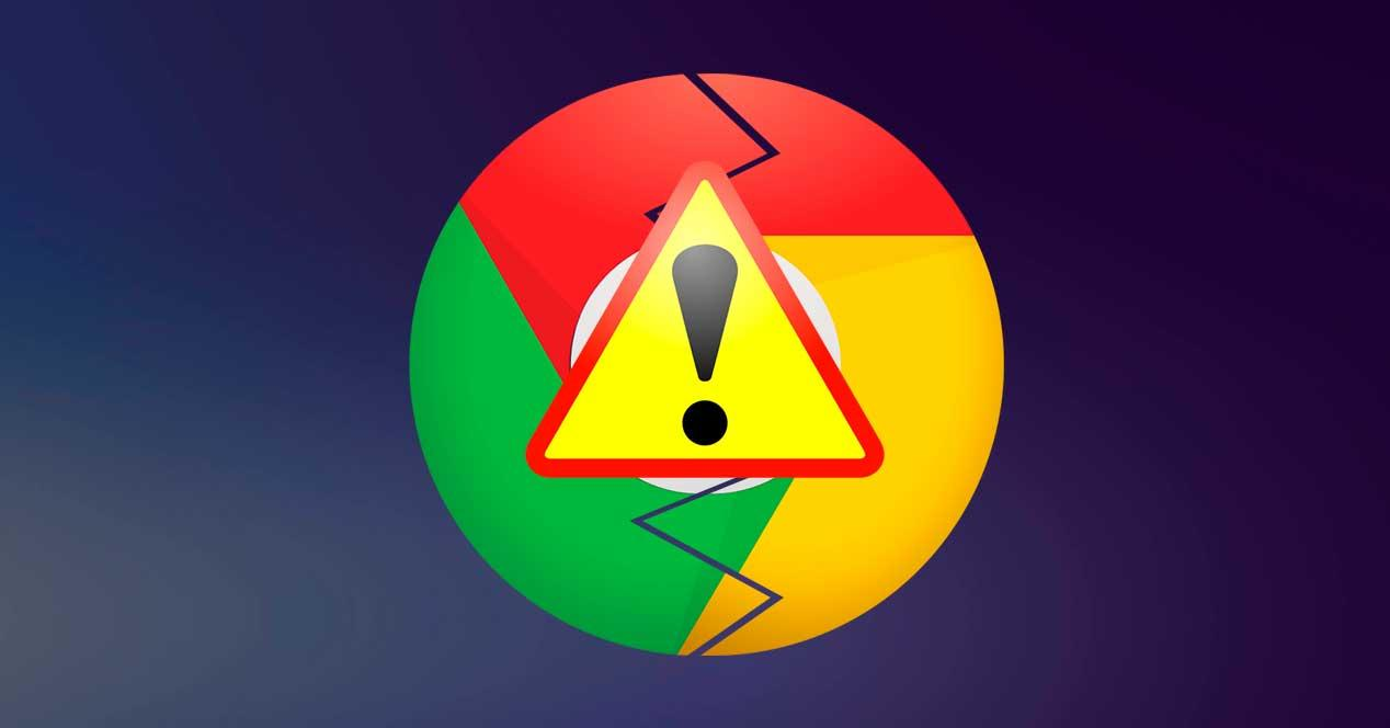 Error Google Chrome