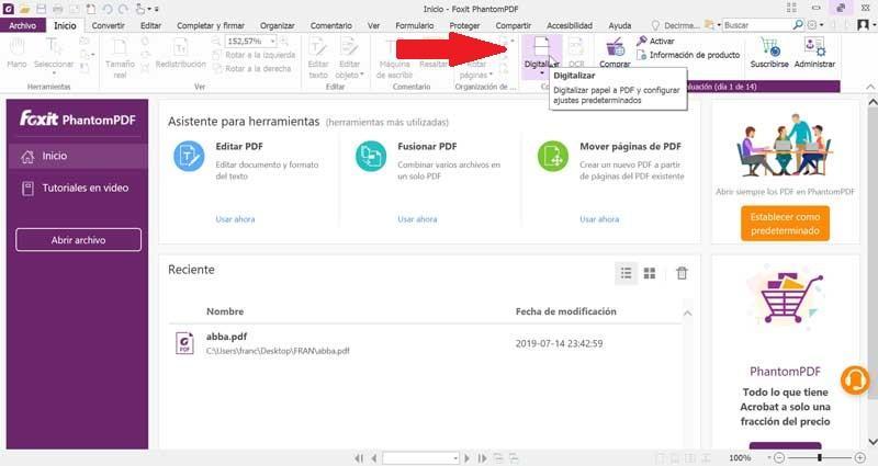 Documente digitalizate Foxit PhantomPDF PDF