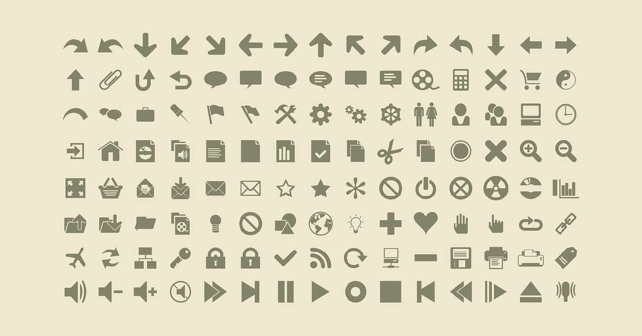 Iconos AWicon