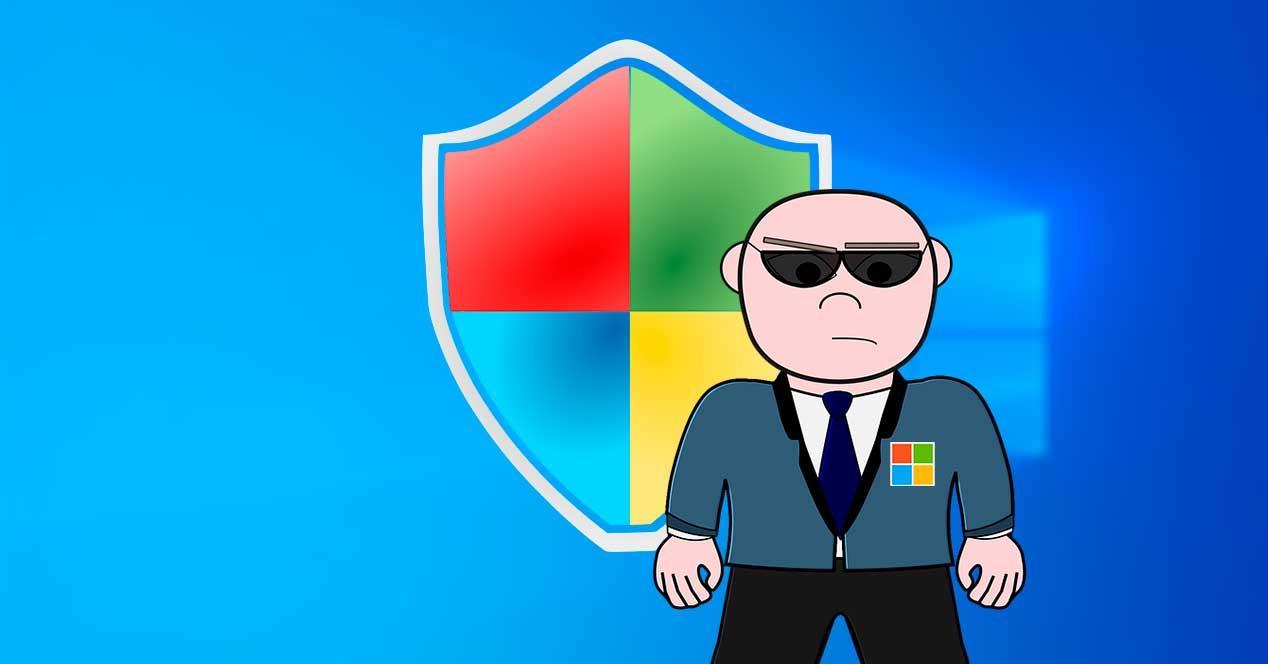 Microsoft protección Windows Defender