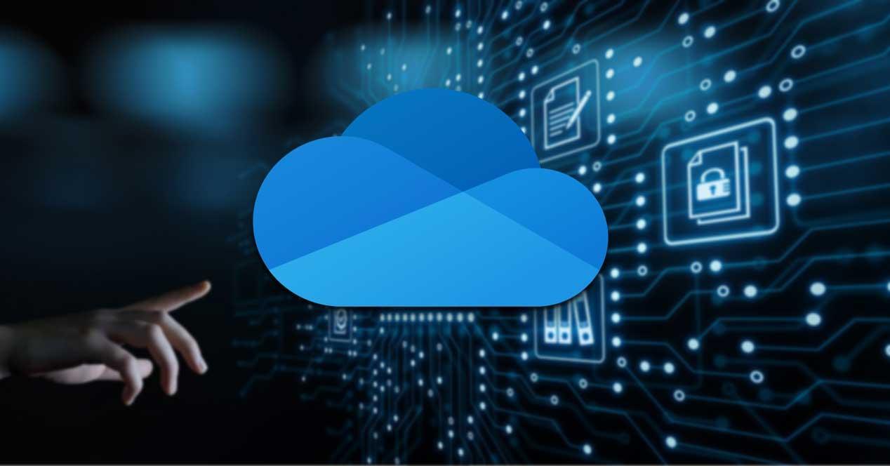 OneDrive sincronizar archivos nube