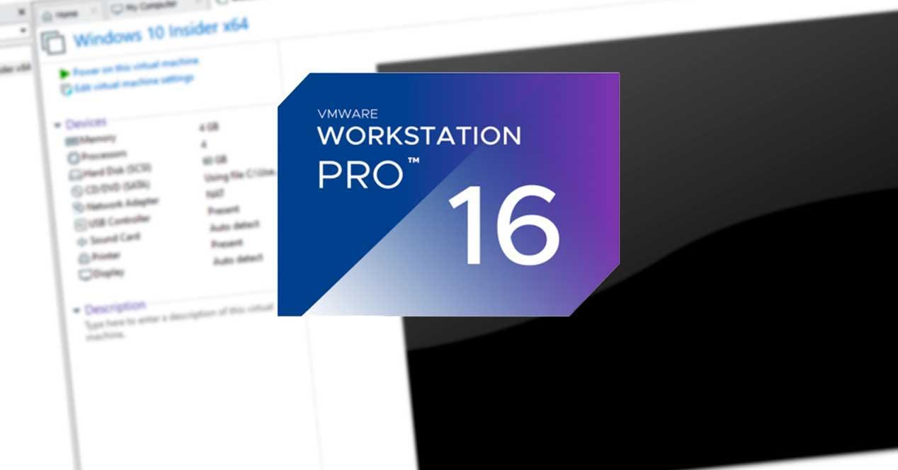 VMware Workstation 16 máquina virtual