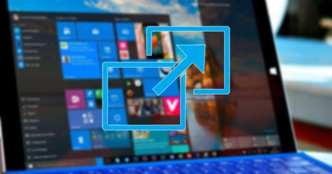 Juegos y aplicaciones pantalla completa Windows