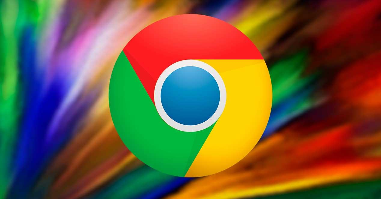 Chrome colores abstracto