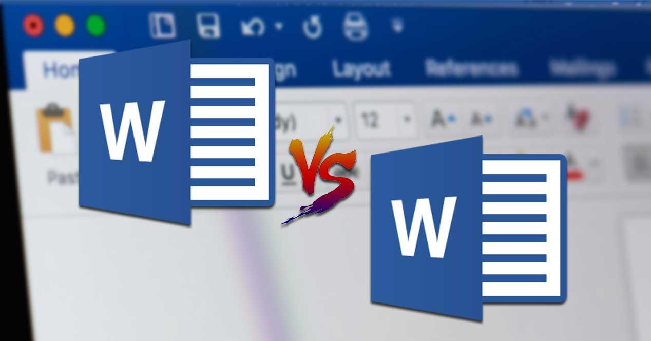 Comparar dos documentos de Word