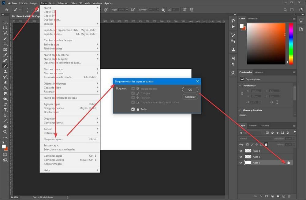 Crear editar capas en Photoshop - 4