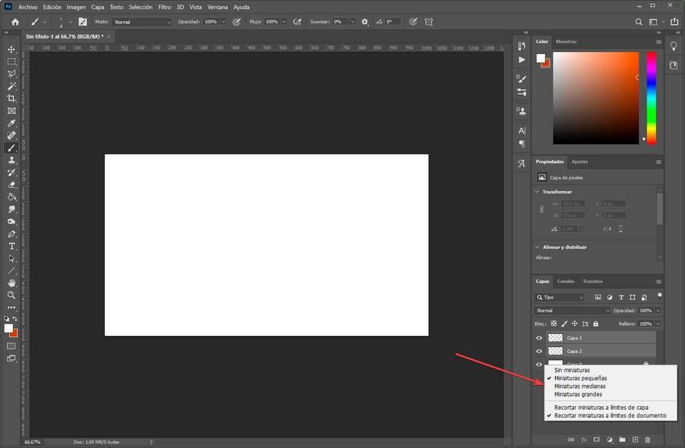 Crear editar capas en Photoshop - 6