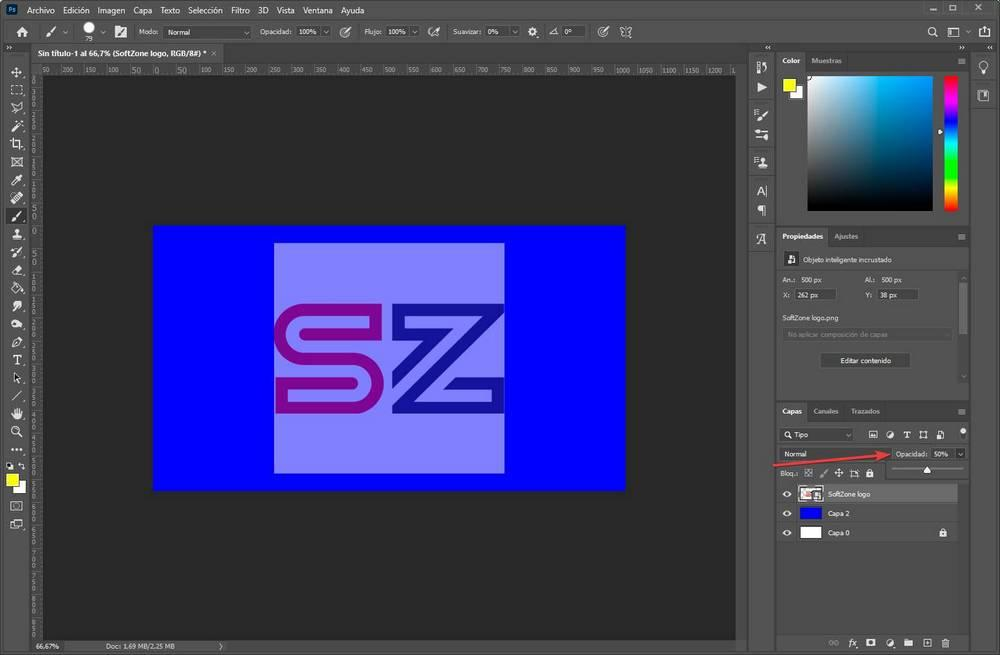Crear editar capas en Photoshop - 7